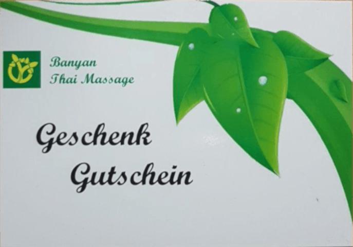 Massage-Gutscheine